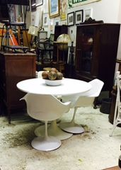 vintage eames arm chairs - set of two