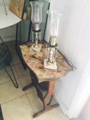 petite antique occasional table