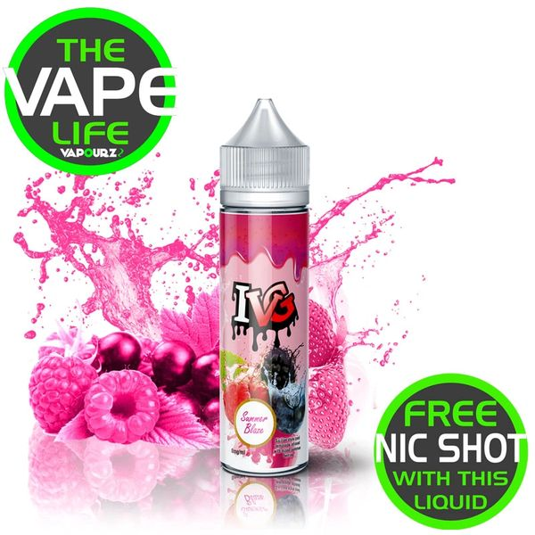 IVG Summer Blaze 50ml + 10ml nic shot free