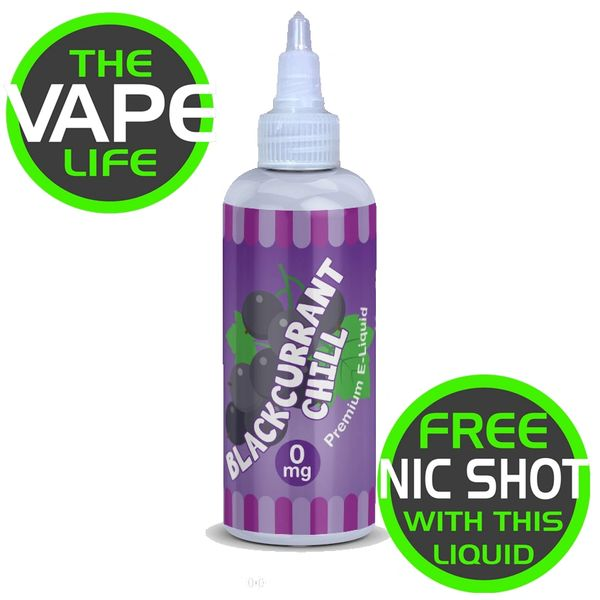 Blackcurrant Chill 80ml + 2 nic shots