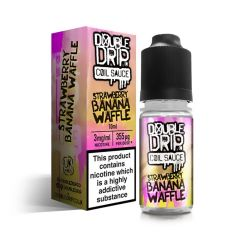 Double Drip Strawberry Banana Waffle 3 x 10ml