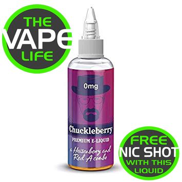 Chuckleberry 80ml + 2 nic shots