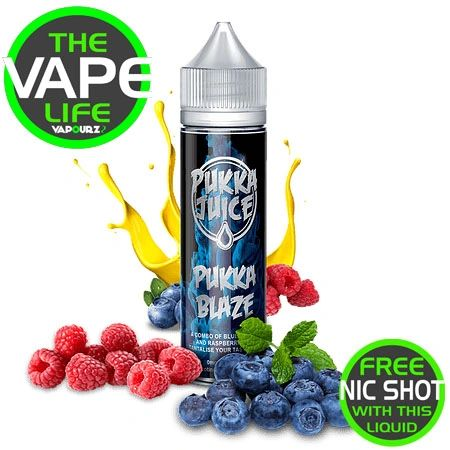 Pukka Juice Blaze Free 10ml Nic Shot
