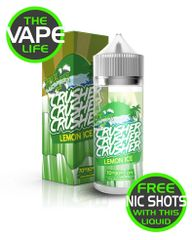 Lemon Ice Crusher 100ml + 2 nic shots free