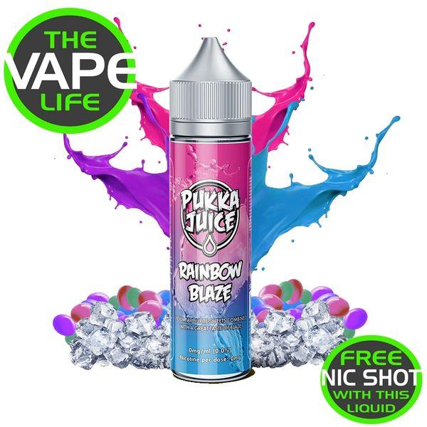 Pukka Juice Rainbow Blaze 50ml + nic shot