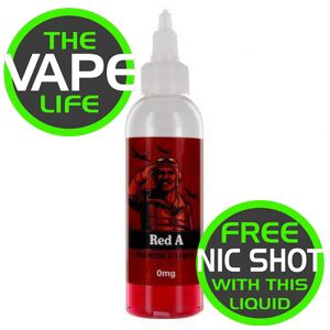 Red A 80ml + 2 Nic Shots