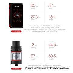 Smok G-priv 2 With 2 x 18650 batteries