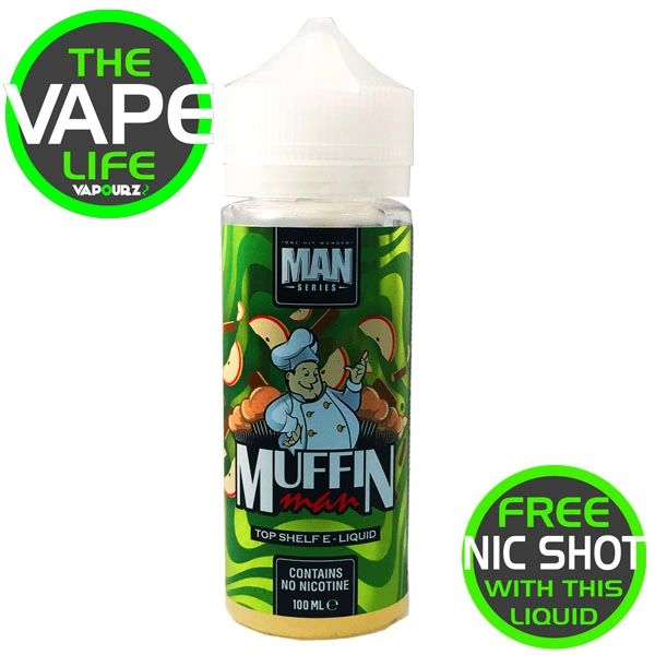 One Hit Wonder Muffin Man 100ml + 2 free nic shots