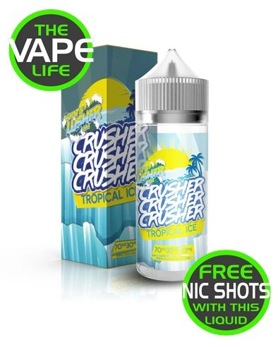 Tropical Ice Crusher 100ml + 2 nic shots free