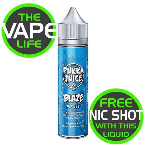 Pukka Juice Blaze No Ice With Nic Shot