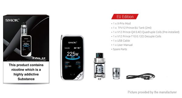 Smok X-Priv With 2 x 18650 Batteries