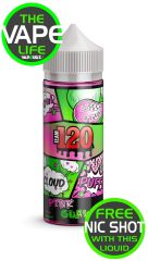 Team 120 pink guava with 2 nic shots