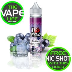 IVG Menthol Blackberg with 10ml nic shot