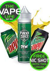 Pukka Juice Dew free 10ml nic shot