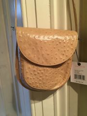 Puckered Patterned Small Hand Bag by HOBO
