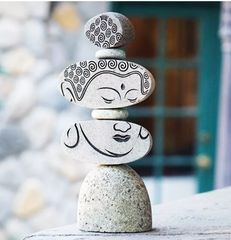 Face of Buddha Stone Sculpture