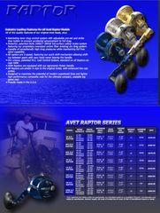 AVET HXJ 5/2 MC RAPTOR 2-SPEED RIGHT HAND