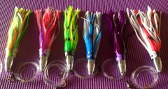 """Qty 6 - 7"""" Plunger Bullet JetHead Lures"""