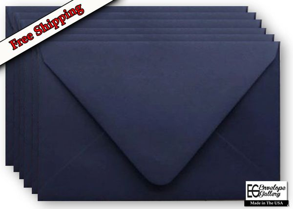 navy blue 70lb euro contour flap envelopes elegant deep flap for
