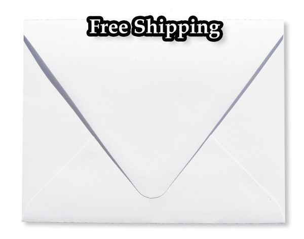 bright white 70lb euro contour flap envelopes elegant deep flap