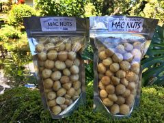 Mac Nuts - Organic, Raw, Dehydrated - Raw & Crunchy