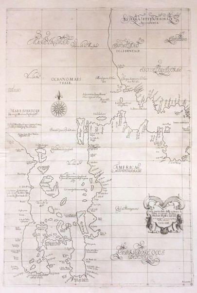 Carta particolare dello istreto è/ Mare iscoperto da Hen / Hudson...