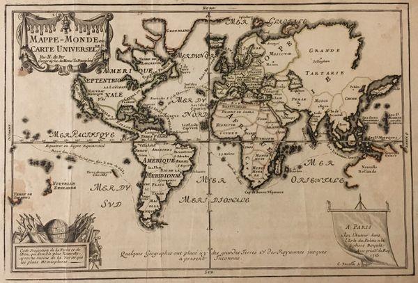 Mappe-Monde ou Carte Universelle.