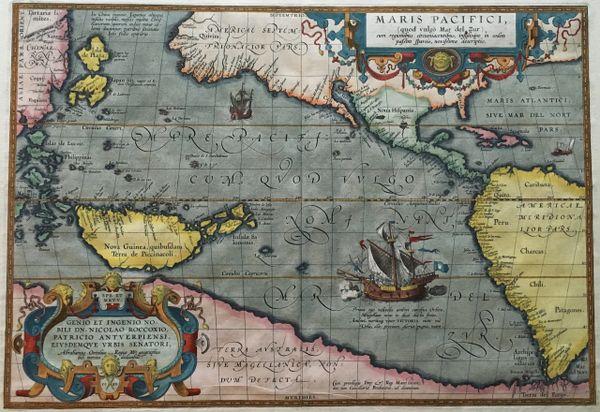 Maris Pacifici quod vulgo Mar del Zud