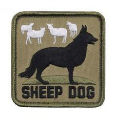 Sheep Dog Morale Patch