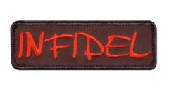 Infidel Morale Patch in Red