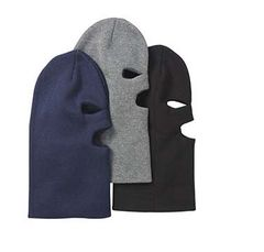 3 Hole Knit Mask, Thinsulate,Asst Colours