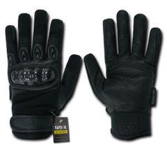 Carbon Fiber Knuckle Tactical Glove, Black, XX-Large