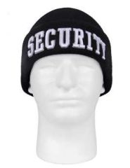 Deluxe Security Embroidered Watch Cap