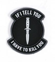 If I Tell You I Have to Kill You Morale Patch