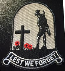 LEST WE FORGET Remembrance Patch