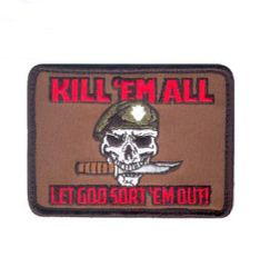 Kill Em All Let God Sort Em Out Morale Patch