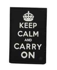 Keep Calm and Carry On Morale Patch