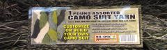 1 Pound Bag Camo Suit Yarn Multi-Pack