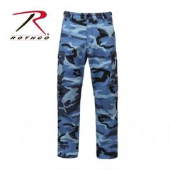 Sky Blue Camo BDU Pants