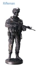 Rifleman Statue