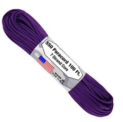 550 7 Strand Paracord Purple