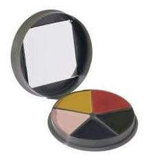 G I Type 5 Color Camo Face Paint Compact