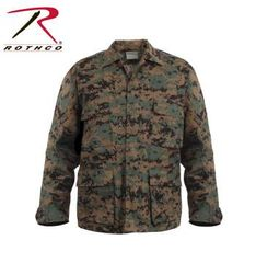 Digital Woodland (Marpat) BDU Shirt