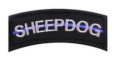 Thin Blue Line Sheepdog Morale Patch