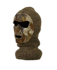 Thermal Knit 3 Hole Mask RealTree / Mossy Oak Options
