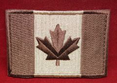 Canada Flag Patch - Tan