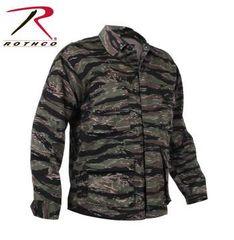 Tiger Stripe Camo BDU Shirt