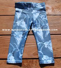 Youth Leggings, Deer Antler, Blue, NEW! from Rockstarlette Outdoors