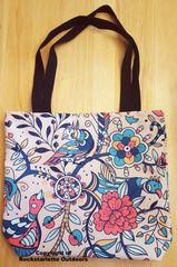 Tote Bag: Cheerful Birds Design