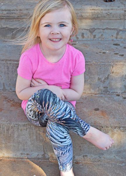 93baf02ea2496 Youth Turkey Feather Leggings from Rockstarlette Outdoors | Rockstarlette  Outdoors